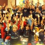 Fundación Telefónica celebró el Día de Reyes junto a los beneficiarios de Proniño.