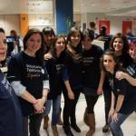 Atender el teléfono fue su misión en una gala que consiguió recaudar más de 1,3 millones de euros y en la que participaron más de 300 Voluntarios Telefónica.