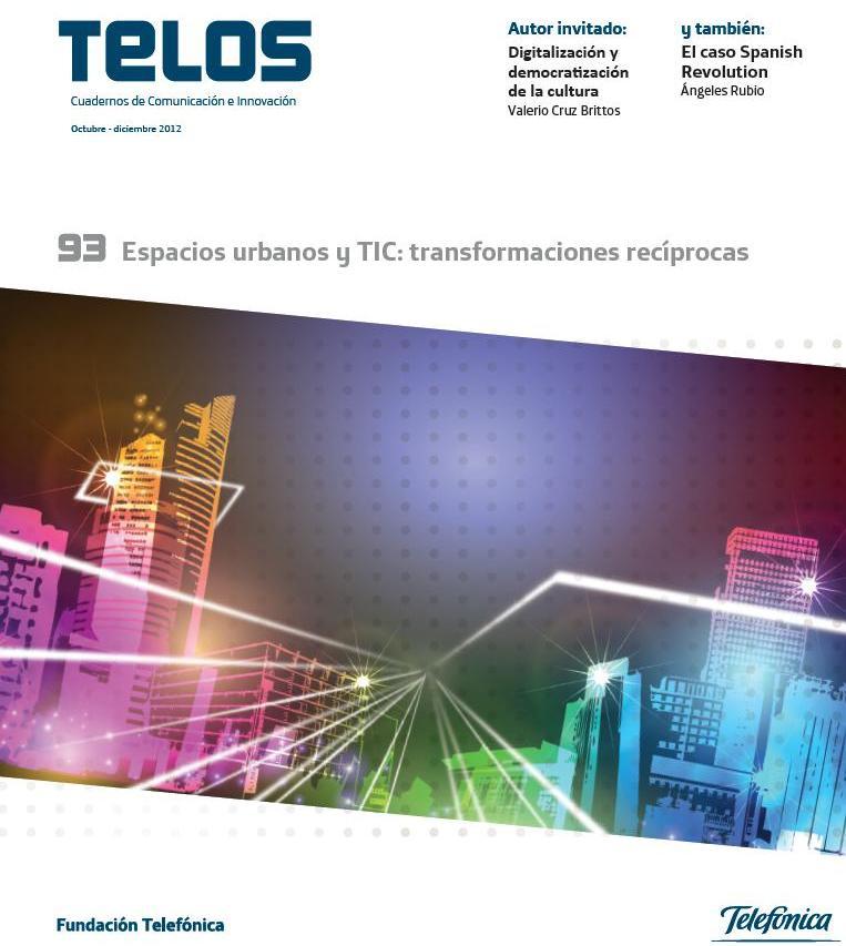 El Espacio Fundación Telefónica acoge la presentación del número 93 de la revista TELOS, dedicado a los nuevos espacios urbanos.