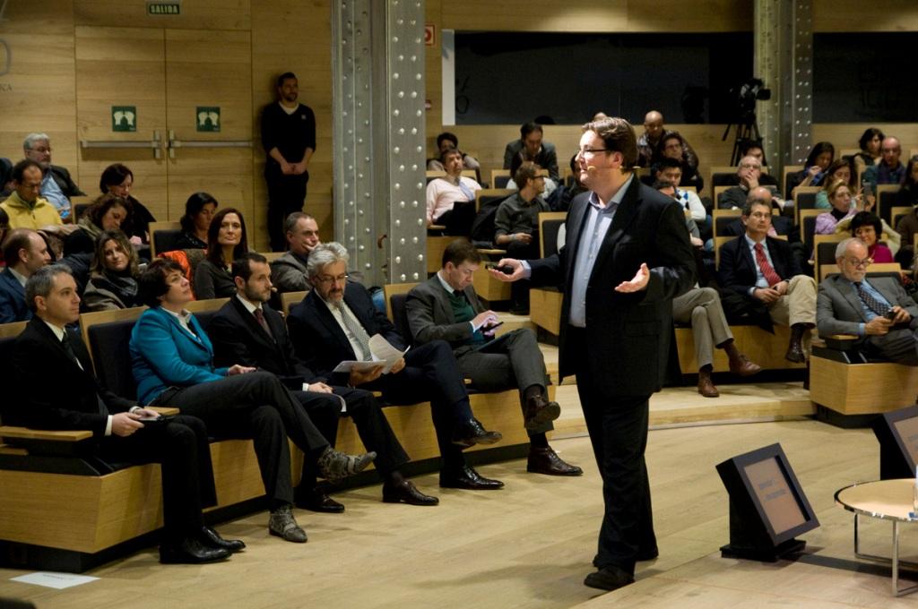 """Josep Salvatella, socio director de RocaSalvatella, intervino con la ponencia """"La transformación digital de los negocios."""