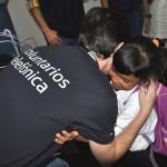 Voluntarios Telefónica acompañaron a los niños y niñas en una mañana llena de sorpresas.