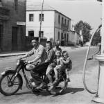 Fermín, Avelino, Bautista y Pepiño, Soutelo de Montes, 1957.