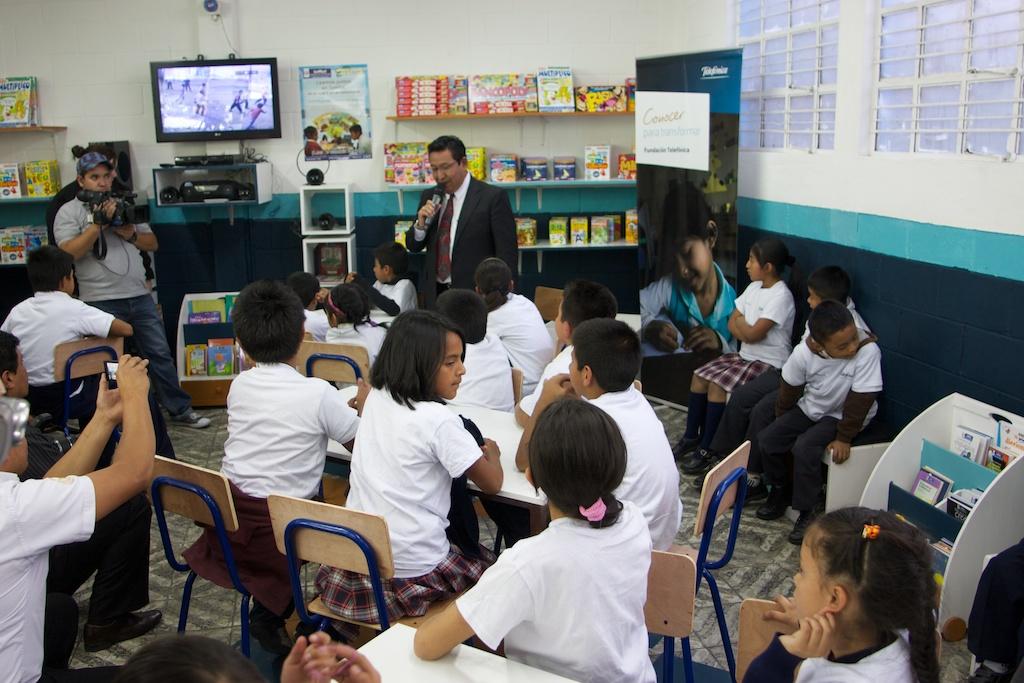 Las escuelas de Guatemala en las que está presente Fundación Telefónica inician un nuevo curso escolar.