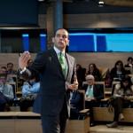 """Para Juan Verde, el que una empresa se sitúe en la cúspide del desarrollo tiene mucho que ver """"con la capacidad de innovar, no sólo en el negocio de gestión, sino en el modelo de liderazgo"""". Según Verde, """"empresa y empresarios deben saber que gracias a las TIC, cualquier idea puede cambiar el mundo""""."""