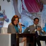 Margarita Zavala, exprimera dama de México, fue una de las personalidades que participaron en el Encuentro.