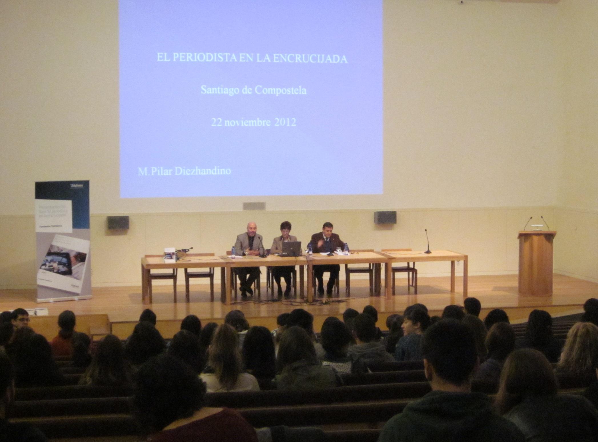 Presentación en Santiago de Compostela de
