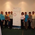 En días pasados se presentó a representantes del Ministerio de Educación y Directivos de las Escuelas participantes los resultados de la primera fase del Sistema de Mejora.