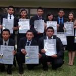 16 jóvenes salvadoreños que han contado con el apoyo de Fundación Telefónica ya han terminado sus carreras técnicas.