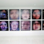 Autorretratos de 90 mil pixeles construidos por un software.