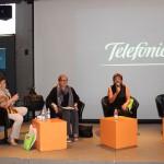 El evento inició con la bienvenida de Carmen de la Serna, directora de Programas Sociales de Fundación Telefónica a nivel global; Giovanna Bruni, directora de Fundación Telefónica México y Ana Tomé, directora del Centro Cultural España.