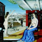 L'appel (1944), de Paul Delvaux.