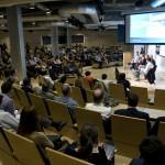 """El Espacio Fundación Telefónica acogió el 23 de abril la quinta y última sesión del ciclo """"Empresa 2020: La reinvención de los negocios""""."""