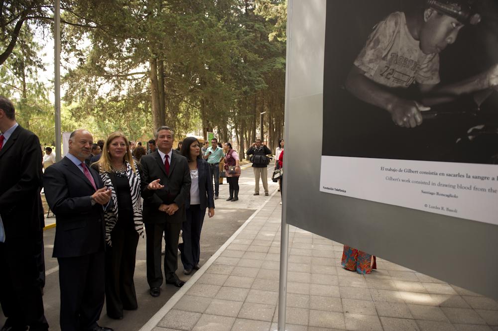 """Fundación Telefónica ha inaugurado en Toluca la exposición itinerante """"La Hora del Recreo: Erradicar el trabajo infantil en Latinoamérica"""""""