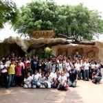 Entre las actividades que se han desarrollado se encuentra una visita al zoológico con niños y niñas de la ciudad de Palencia.