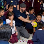 Los Voluntarios Telefónica celebraron en México el Día del Niño.