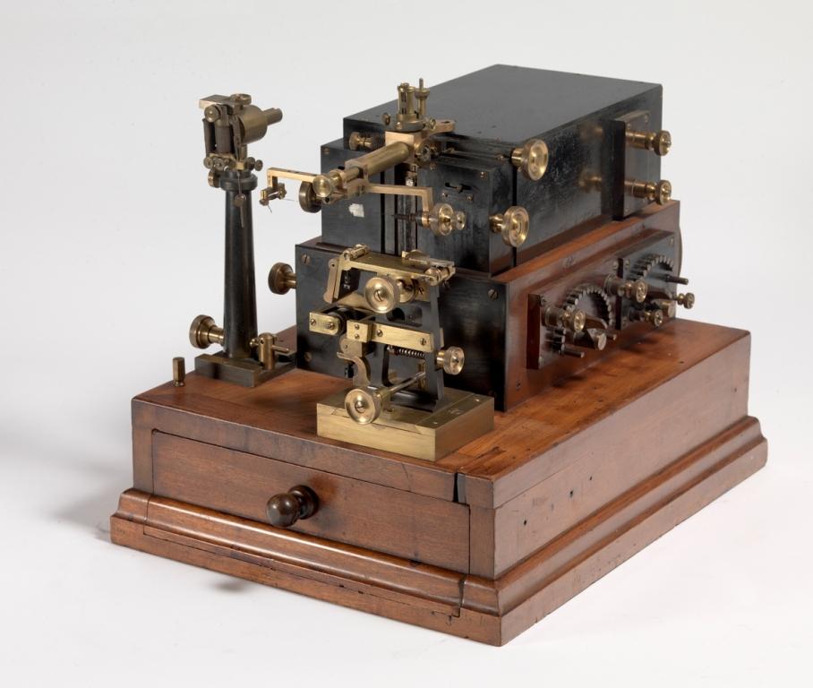 Receptor telegráfico de cable submarino.