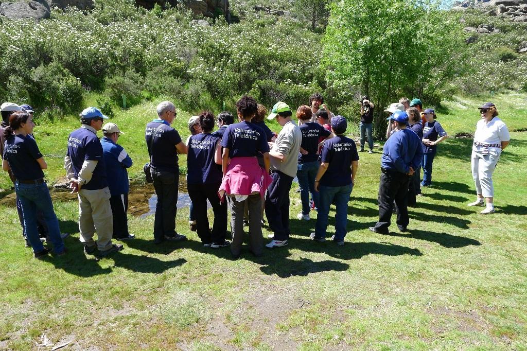 La iniciativa se desarrolló en el Parque Regional de la Cuenca Alta del Manzanares, uno de los espacios naturales más emblemáticos de la Comunidad de Madrid, y contó con un total de 30 participantes, entre personas con discapacidad y voluntarios de la compañía.