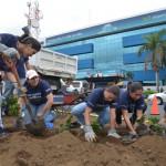 En el marco de la celebración del día mundial del medio ambiente Telefónica Movistar y la Alcaldía de Managua se unieron en una mañana de reforestación en la que participaron los Voluntarios Telefónica, sembrando cerca de 10.000 plantas de diferentes especies.