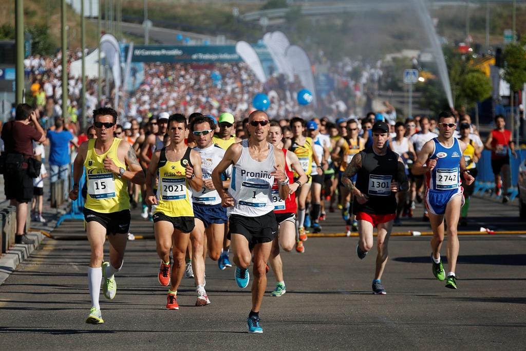 5.163 atletas corrieron en Madrid para erradicar el trabajo infantil, entre ellos los campeones internacionales Chema Martínez, Alejandro Santamaría y Abel Antón.