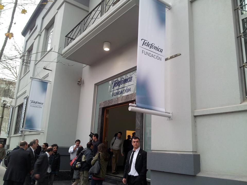 Fundación Telefónica ha inaugurado su sede en  la Avda. San Martín esquina Ceibal.