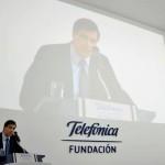 Jose Pedro Derrégibus, director de Fundación Telefónica Uruguay , fue el encargado de presentar la nueva sede en Montevideo.
