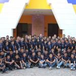 Ochenta y cinco jóvenes provenientes de diferentes zonas del país se congregaron este 13  y 14 de noviembre en el IV Encuentro Nacional de Jóvenes de Fundación Telefónica en El Salvador.