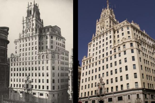 La transformación del Edificio a través de los años.
