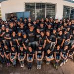 Foto de familia de los Voluntarios