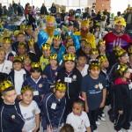 Gracias a esta contribución, en enero, más de 600 niñas y niños recibieron regalos