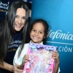 Ya se ha hecho costumbre que cada mes de enero la Fundación Telefónica invite a su sede a un importante grupo de niños beneficiados por su programa Proniño.