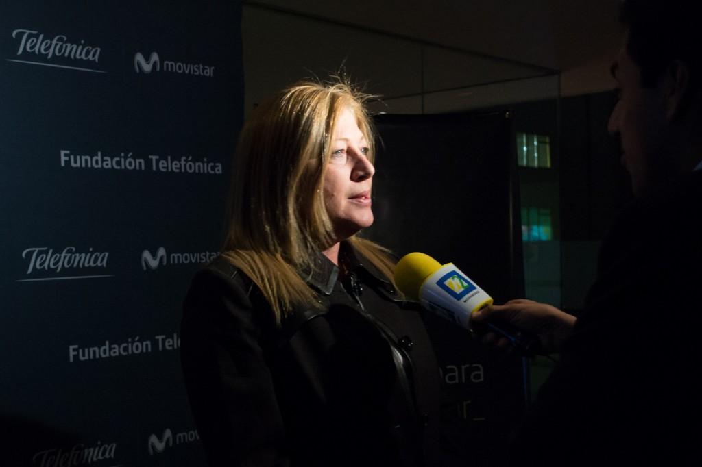 Giovanna Bruni, Directora de Fundación Telefónica México.