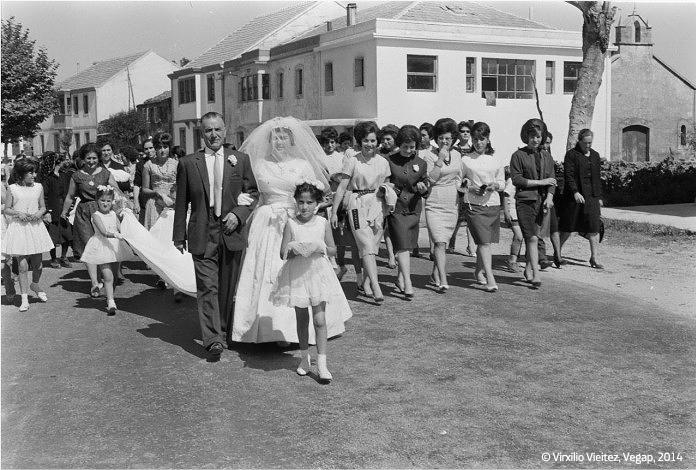 Boda de Mariluz, Soutelo de Montes, 1963.