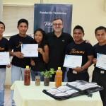 En el curso, los jóvenes aprendieron sobre emprendeduría y sus características, elaboración de un plan de negocios y la presentación del mismo.