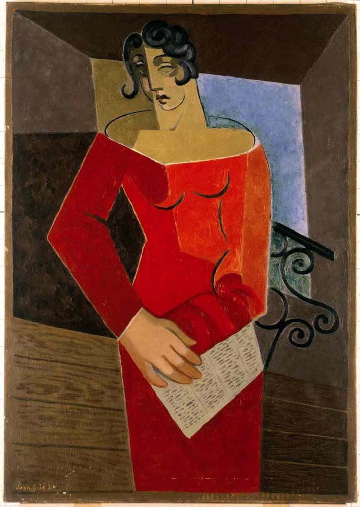 La Chanteuse. Juan GRIS (1926)