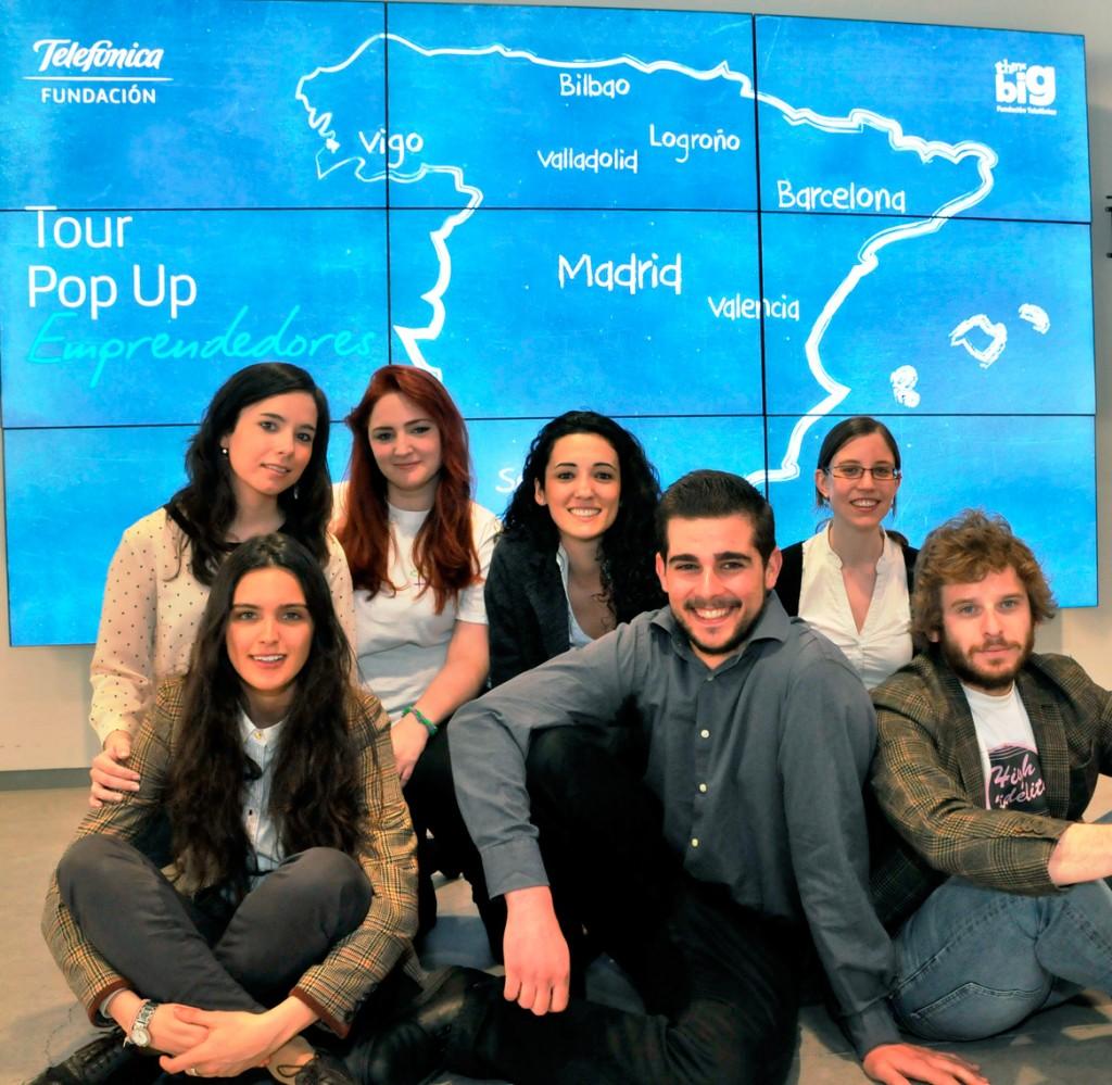 'Pop Up Emprendedores', una serie de eventos por 7 ciudades españolas, que consistirán en dos días de formación intensiva sobre las competencias necesarias para emprender