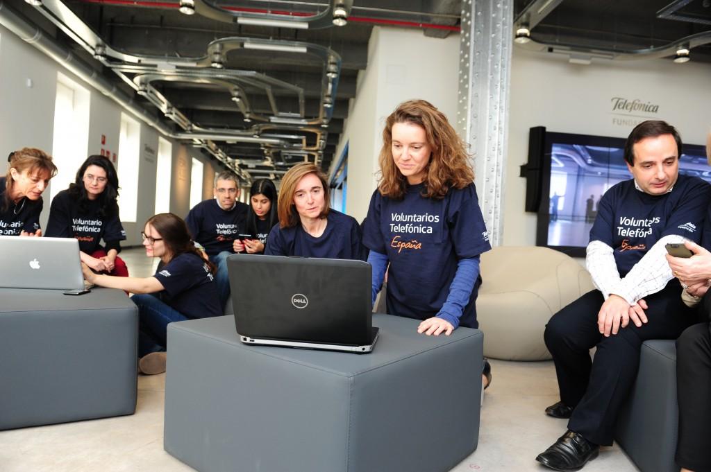 El programa Voluntarios Telefónica funciona en los 25 países donde opera el Grupo Telefónica.