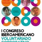 Cartel del  I Congreso Iberoamericano de Voluntariado Corporativo