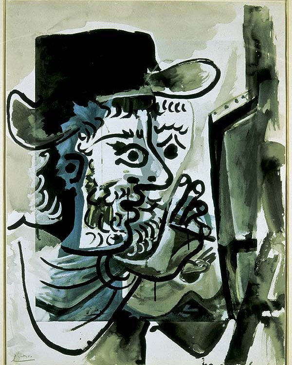 'Le peintre au travail', de Picasso