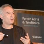Ferran Adrià hizo hincapié en que el gran reto que tenemos en España es que cada ciudadano, a su nivel, puede aportar a la sociedad.