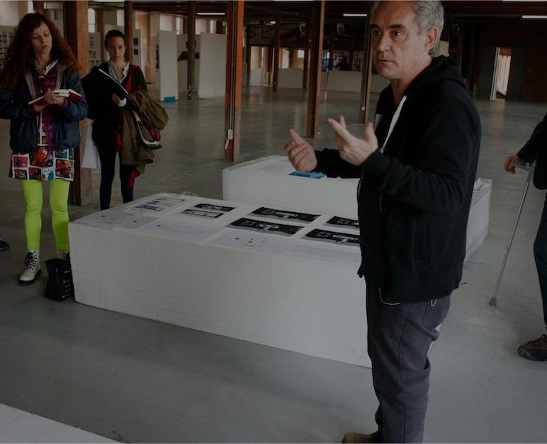 Con casi 1.000 metros cuadrados y un proyecto directamente supervisado por Adrià, la exposición será la más grande dedicada hasta ahora al genial autor.