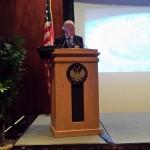 Emilio Gilolmo, Vicepresidente Ejecutivo de Fundación Telefónica, durante su intervención.