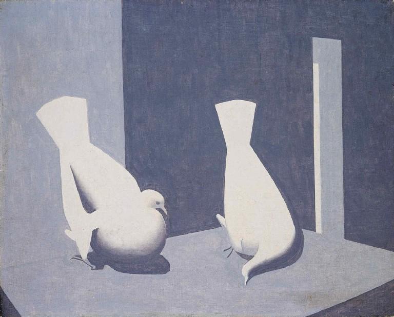 Luis Fernandez: Deux pigeons