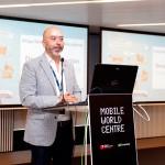 Joan Cruz, director de Coordinación Territorial de Fundación Telefónica, presenta el evento de Barcelona - ®Arduino Vannucchi