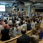 Más de 300 personas abarrotaron el Espacio Fundación Telefónica (Madrid)