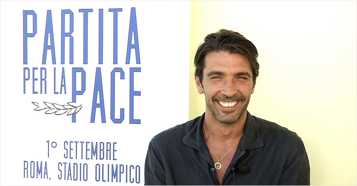 El portero Gianluigi Buffon será uno de los capitanes del partido.