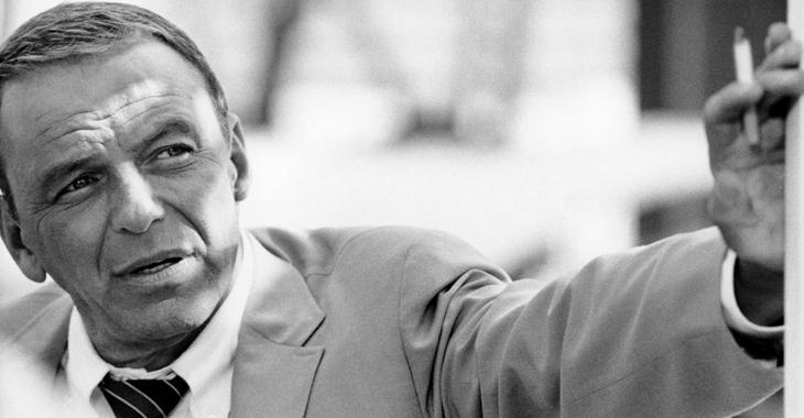 Frank Sinatra 1968. ©Terry O'Neill