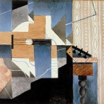 Juan Gris. La guitare sur la table.