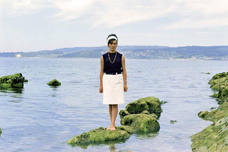 Amelia, excursión a Vilagarcía de Arousa, 1969 © Virxilio Vieitez, Vegap, 2013