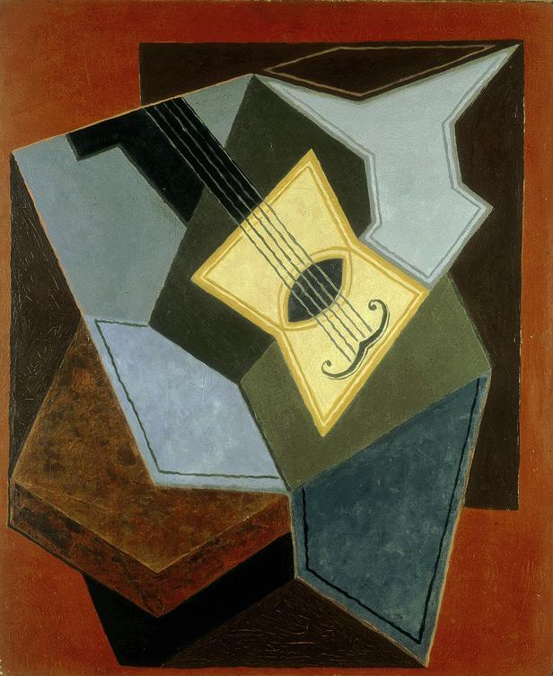 Juan Gris. Guitare et compotier
