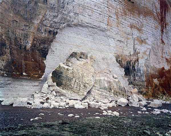 St. Pierre-en-Port, 9 November 2005, de la serie The Rockfalls of Normandy © Jem Southam